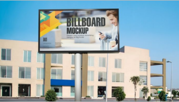 Billboard Mockup PSD Design