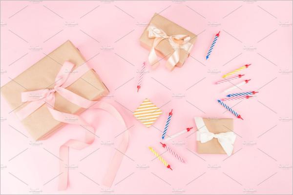Birthday Gift Box Design
