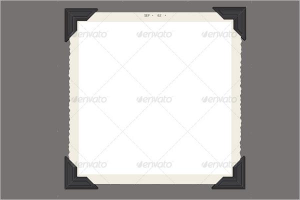 BlankAntique Frame Template
