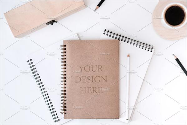 BlankNotepad Mockup Design