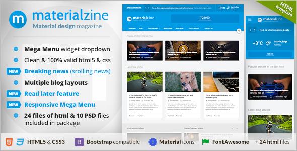 Blog & Magazine PHP Theme