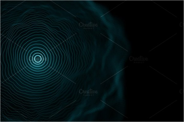 Blue Geometrical Background Template