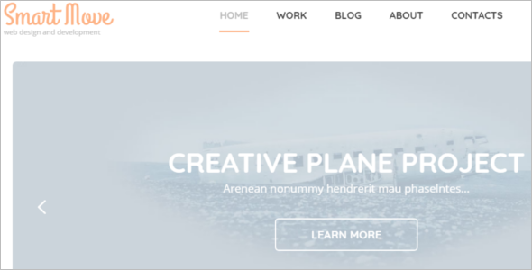 Bootstrap Web Design WordPress Theme