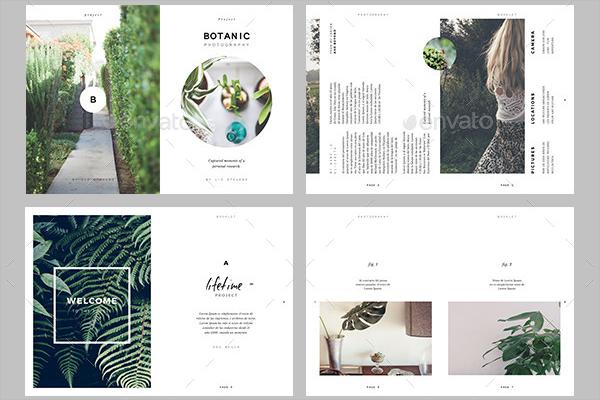 Botanic Magazine Mockup