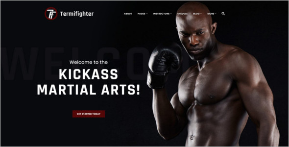 Boxing Club WordPress Theme