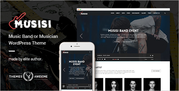 Brand Entertainment WordPress Theme