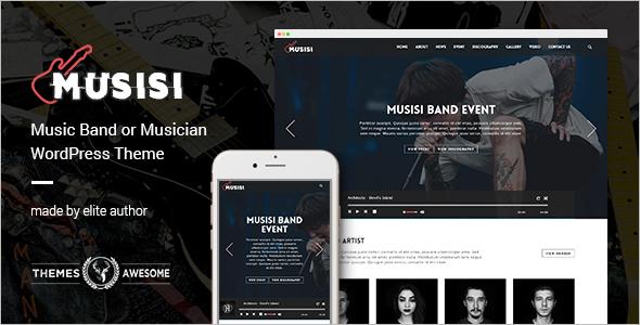 Brand Entertainment WordPress Theme
