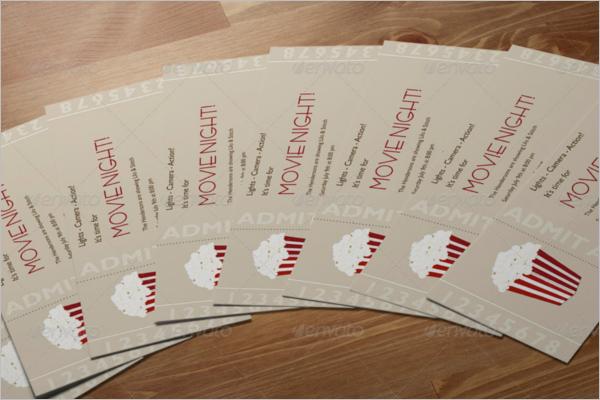 Branding Tickets Mockup Design