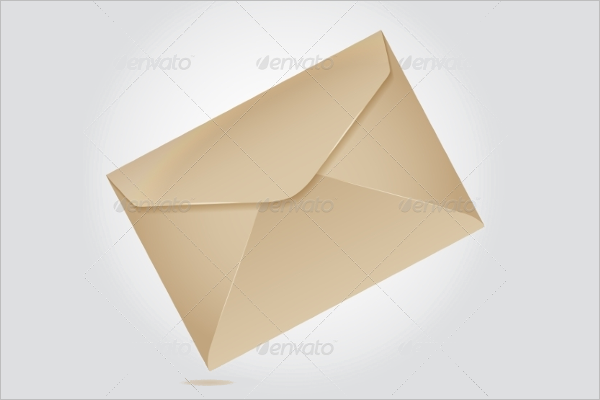 Brown Paper Envelope Design