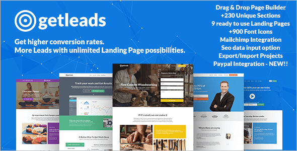 Bulding Eduction Landing Page Themes