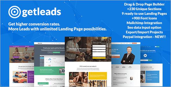 Bulding Eduction Landing Page Themes