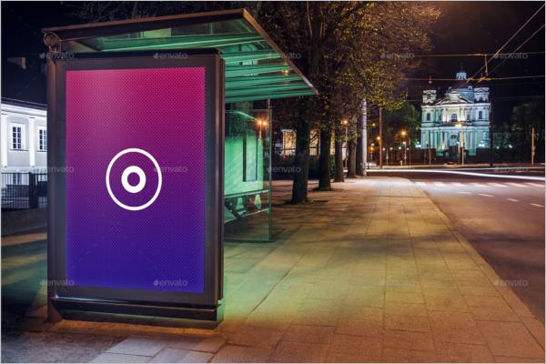 Business Billboard PSD Mockup