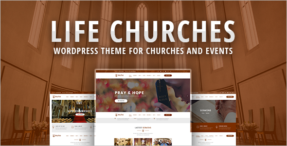 Business Church WordPress Template