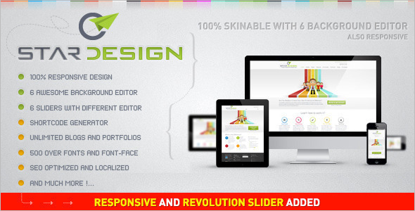 Business Design WordPress Theme