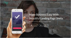 25+ Simple Business Landing Page Templates