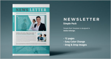 Business Newsletter Templates