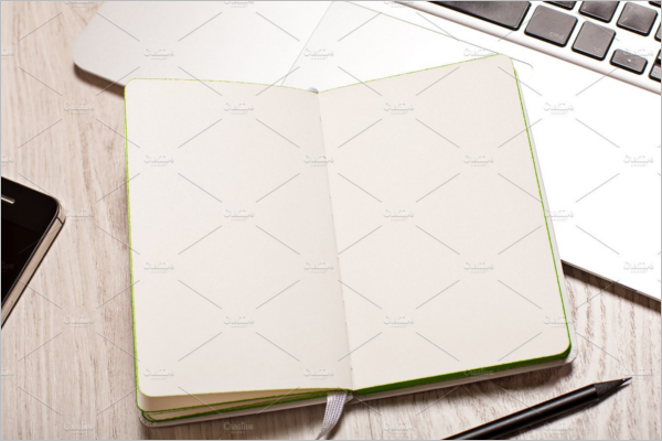 Business Notepad Mockup Design