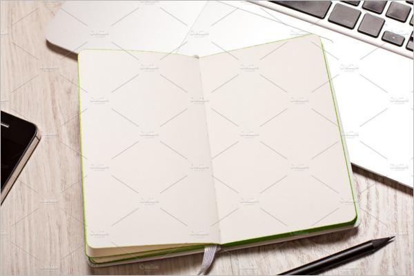 BusinessNotepad Mockup Design
