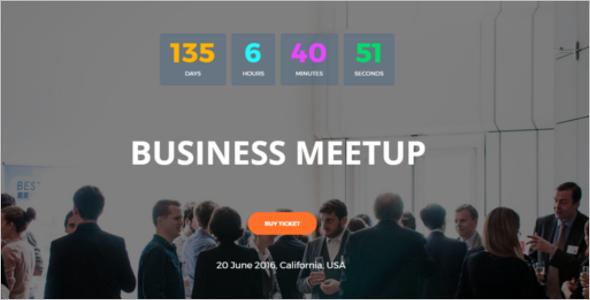 Business SeminarWordPress Theme