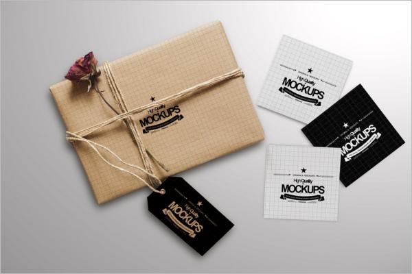 Business Square Gift Box Design