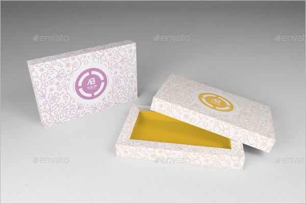 Candy Box Design Template