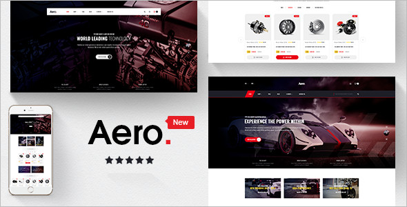 Car Accessories Responsive Prestashop Theme