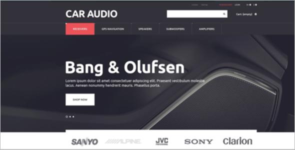 Car Audio PrestaShop Theme