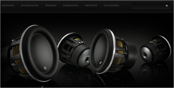 Car Audio Systems PrestaShop Theme