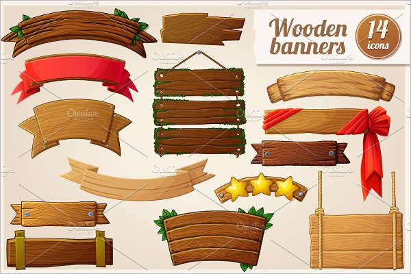 Cartoon Banner ClipartTemplate