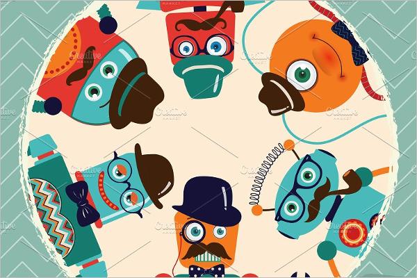 Cartoon Banner Collection Template