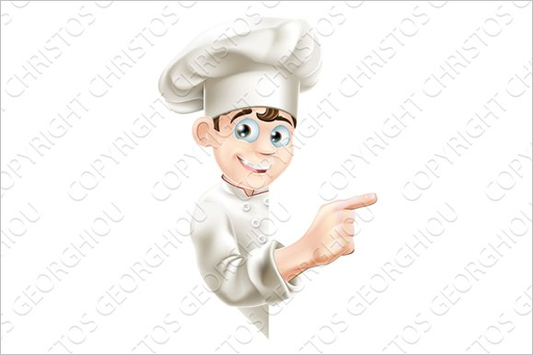 Cartoon Chef PhotoTemplate