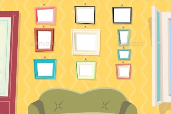 Cartoon Picture Frame Photo