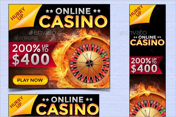 Casino Banner Ade Design