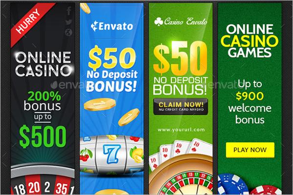 Casino Banner Bundle Design