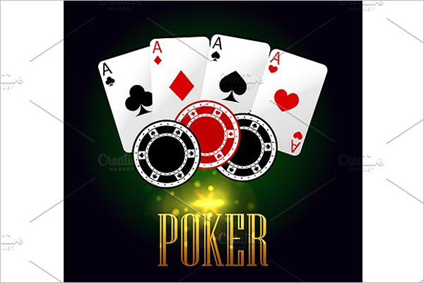 Casino Card Banner Template
