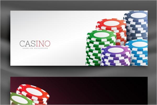 Casino Chip Banner Design