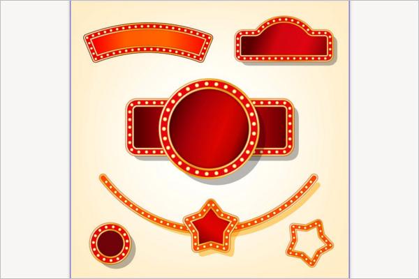 Casino Circus Banner Design