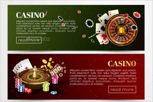 Casino Game Banner Design