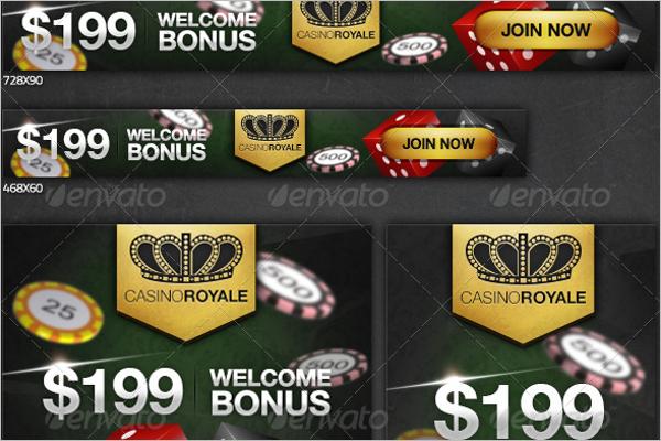 Casino Royale Banner Design