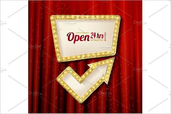 Casino Slot Banner Template
