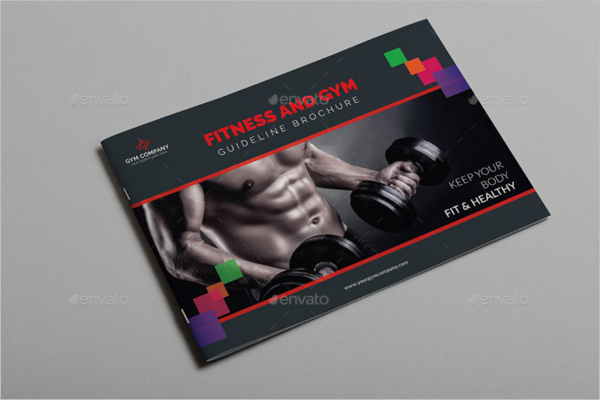 Catlog GYM Brochure Template
