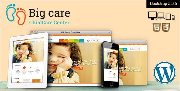 Child Care WordPress Template