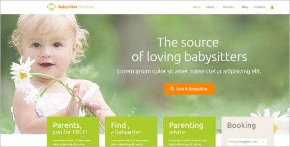 Child Directory WordPress Template