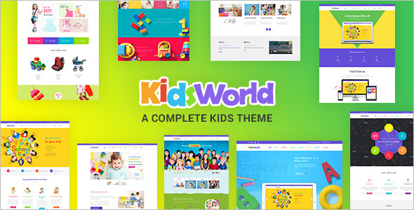 Child Education WordPress Template