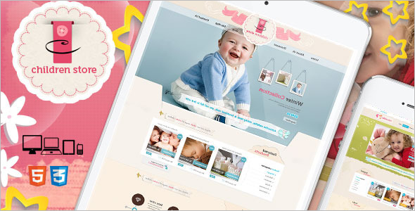 Children Store PHP eCommerce Theme