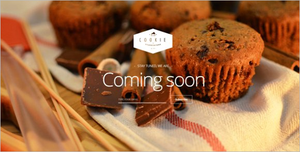 Chocolate Restaurant Landing Page Template
