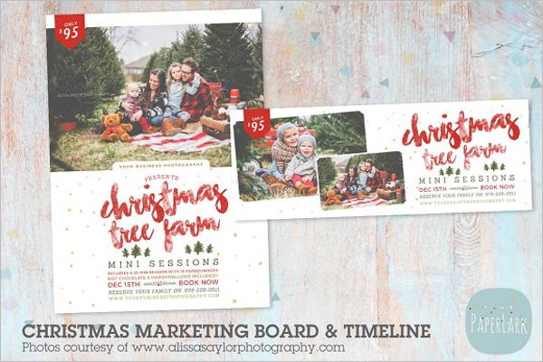 Christmas Facebook Timeline Cover Template