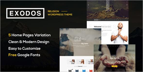 Church Gallary WordPress Theme