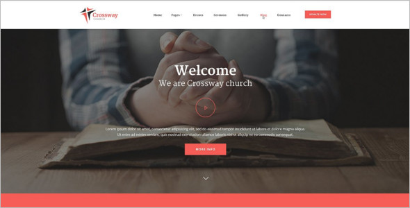 Church WordPress Design Template