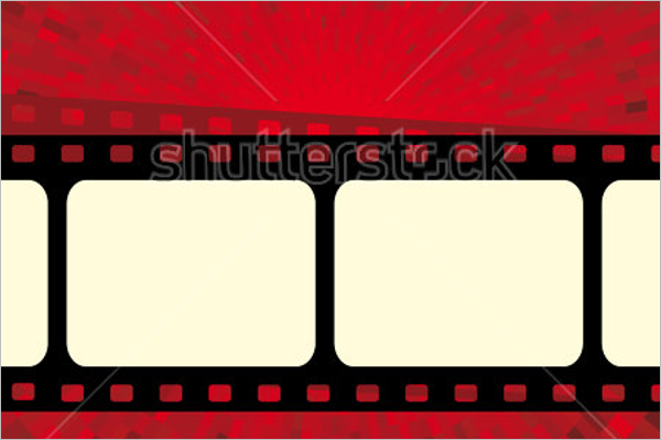 Cinema Animated Photo Frame Template